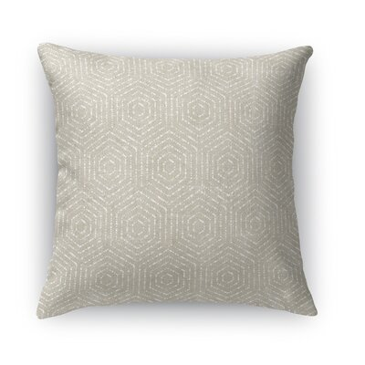 Scandicci Burlap Throw Pillow Size: 24 H x 24 W x 5 D