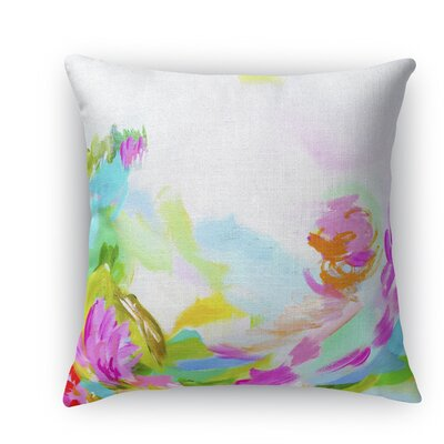 Hollyhock Throw Pillow Size: 24 H x 24 W x 5 D