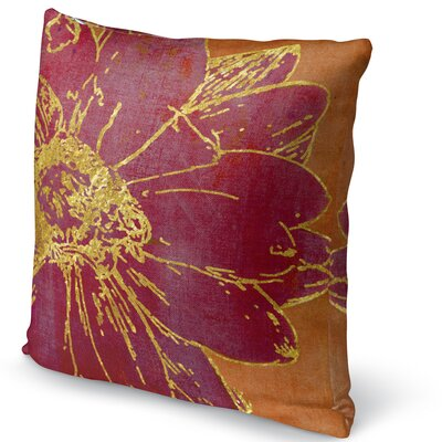 Flora Accent Pillow Size: 16 H x 16 W x 5 D