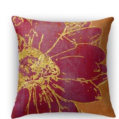 Flora Throw Pillow Size: 16 H x 16 W x 5 D