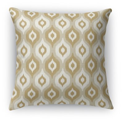 Harmony Throw Pillow Size: 16 H x 16 W x 5 D, Color: Tan