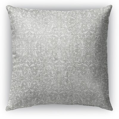 Huelva Burlap Indoor/Outdoor Throw Pillow Size: 16 H x 16 W x 5 D