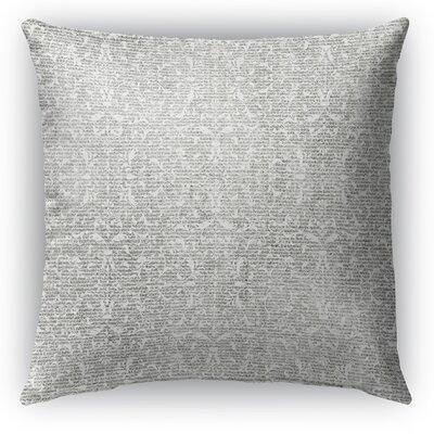Huelva Burlap Indoor/Outdoor Throw Pillow Size: 18 H x 18 W x 5 D