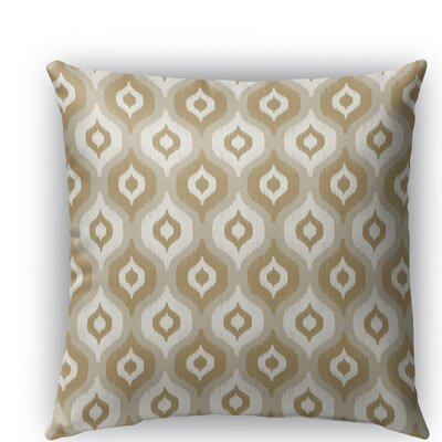 Harmony Indoor/Outdoor Throw Pillow Size: 16 H x 16 W x 5 D, Color: Gray