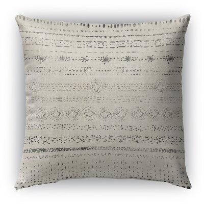 Vania Burlap Indoor/Outdoor Throw Pillow Size: 26 H x 26 W x 5 D