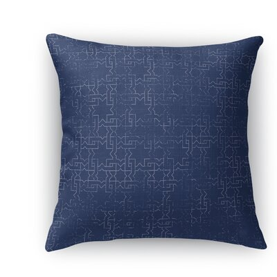 Gridlocked Throw Pillow Size: 24 H x 24 W x 5 D