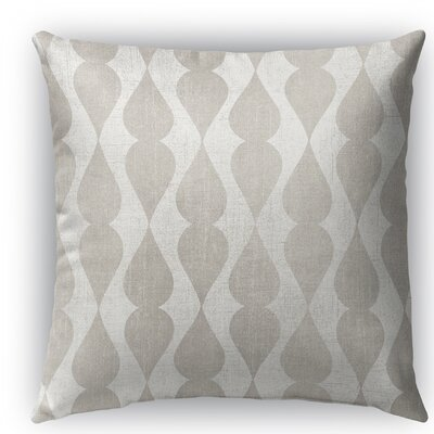 Pisa Burlap Indoor/Outdoor Throw Pillow Size: 26