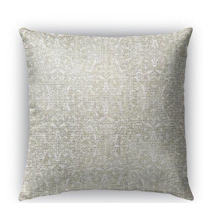 Florence Burlap Indoor/Outdoor Throw Pillow Size: 18 H x 18 W x 5 D