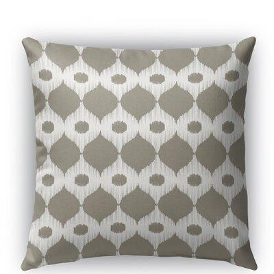 Forrest Rain Burlap Indoor/Outdoor Throw Pillow Color: Tan, Size: 18 H x 18 W x 5 D
