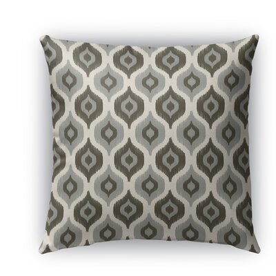 Harmony Indoor/Outdoor Throw Pillow Color: Tan, Size: 26 H x 26 W x 5 D