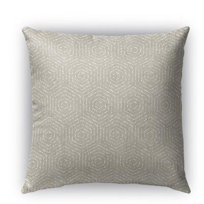 Scandicci Burlap Indoor/Outdoor Throw Pillow Size: 18 H x 18 W x 5 D