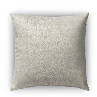 Portici Burlap Indoor/Outdoor Throw Pillow Size: 18 H x 18 W x 5 D