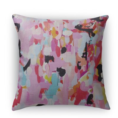 Charm Dripper Throw Pillow Size: 16