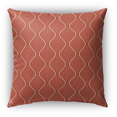 Brescia Indoor/Outdoor Throw Pillow with Zipper Size: 18 H x 18 W x 5 D