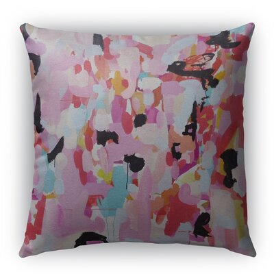 Charm Dripper Indoor/Outdoor Throw Pillow with Zipper Size: 26 H x 26 W x 5 D