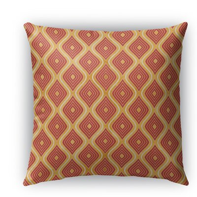 Catania Indoor/Outdoor Throw Pillow with Zipper Size: 16 H x 16 W x 5 D