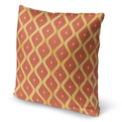 Catania Throw Pillow Size: 16 H x 16 W x 5 D