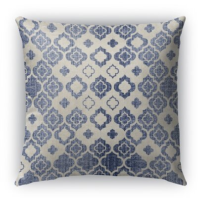 Cagliari Indoor/Outdoor Throw Pillow with Zipper Size: 26 H x 26 W x 5 D
