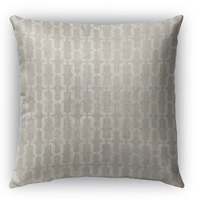 Grosseto Burlap Indoor/Outdoor Throw Pillow Size: 18 H x 18 W x 5 D