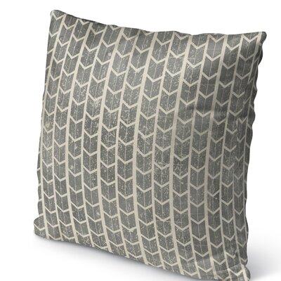 City Rain Burlap Indoor/Outdoor Pillow Size: 26 H x 26 W x 5 D