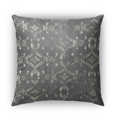 El Durado Burlap Indoor/Outdoor Throw Pillow Size: 16 H x 16 W x 5 D, Color: Gray