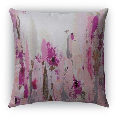 Abby Burlap Indoor/Outdoor Throw Pillow Size: 16 H x 16 W x 5 D