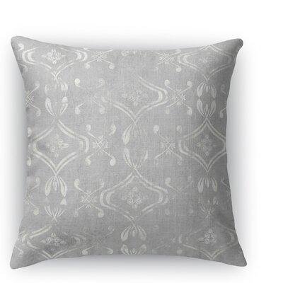 El Durado Throw Pillow Color: Light Gray, Size: 24 H x 24 W x 5 D