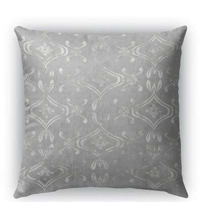 El Durado Burlap Indoor/Outdoor Throw Pillow Size: 16 H x 16 W x 5 D, Color: Light Gray