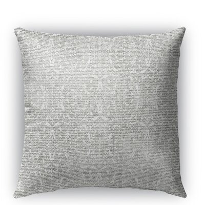 Huelva Burlap Indoor/Outdoor Throw Pillow Size: 26 H x 26 W x 5 D