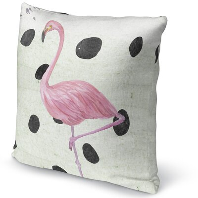Flamingo II Accent Pillow Size: 24 H x 24 W x 5 D