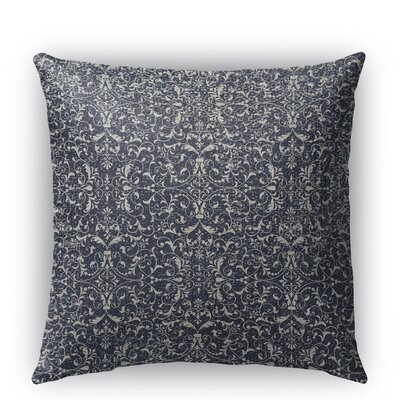 C�rdoba Burlap Indoor/Outdoor Throw Pillow Size: 18