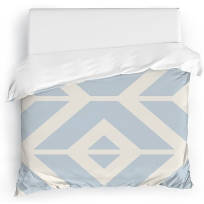 Montilla Duvet Cover Size: Full/Queen, Color: Purple/Orange/Blue/Red