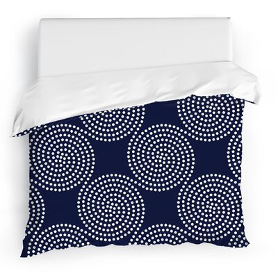 Clouds Duvet Cover Size: Twin, Color: Blue