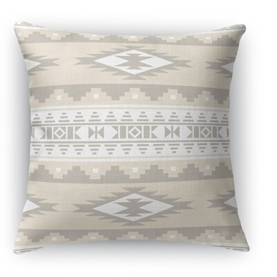 Cherokee Throw Pillow Color: Tan, Size: 24 H x 24 W x 5 D