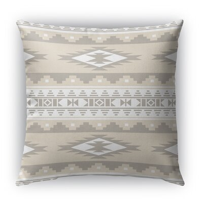 Cherokee Indoor/Outdoor Throw Pillow Color: Tan, Size: 20 H x 20 W x 5 D