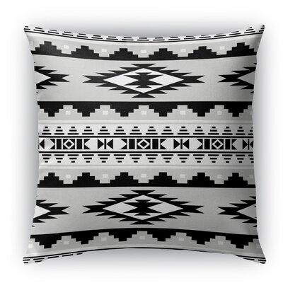 Cherokee Burlap Indoor/Outdoor Throw Pillow Size: 18 H x 18 W x 5 D, Color: Gray