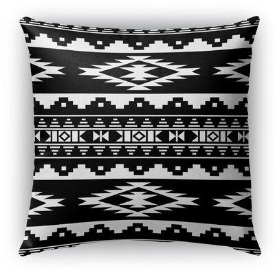 Cherokee Indoor/Outdoor Throw Pillow Size: 16 H x 16 W x 5 D, Color: Black