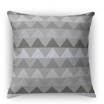 Gavin Throw Pillow Size: 16 H x 16 W x 5 D, Color: Gray