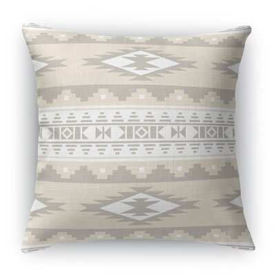 Cherokee Throw Pillow Color: Tan, Size: 24 H x 24 W x 5 D