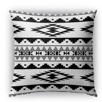 Cherokee Indoor/Outdoor Throw Pillow Size: 16 H x 16 W x 5 D, Color: White