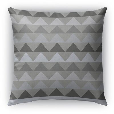 Gavin Burlap Indoor/Outdoor Throw Pillow Color: Gray, Size: 26 H x 26 W x 5 D