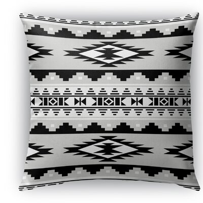Cherokee Indoor/Outdoor Throw Pillow Size: 16 H x 16 W x 5 D, Color: Gray