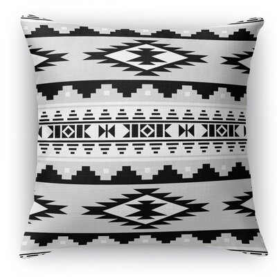 Cherokee Throw Pillow Size: 16 H x 16 W x 5 D, Color: Gray
