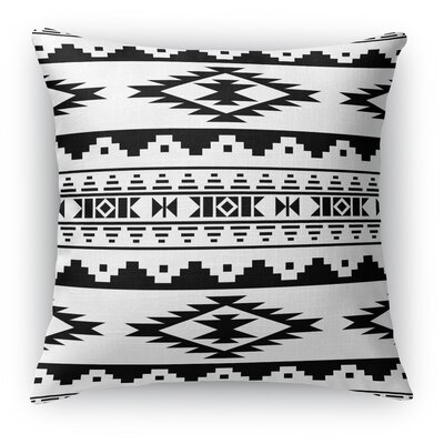 Cherokee Throw Pillow Size: 16 H x 16 W x 5 D, Color: White