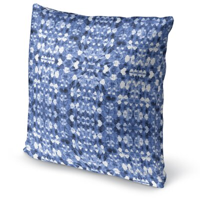Shibori Mirror Accent Pillow Size: 24 H x 24 W x 5 D