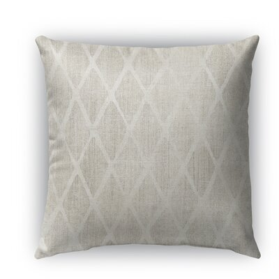 Fano Burlap Indoor/Outdoor Throw Pillow Size: 18 H x 18 W x 5 D