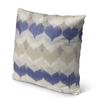 Dylan Burlap Indoor/Outdoor Throw Pillow Size: 16 H x 16 W x 5 D