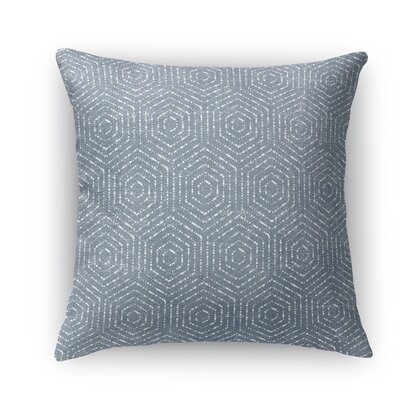 Aversa Throw Pillow Size: 18 H x 18 W x 5 D