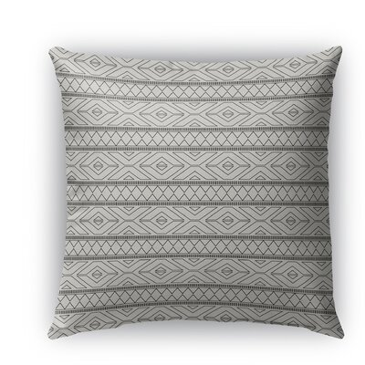 Rogers Burlap Indoor/Outdoor Throw Pillow Size: 18 H x 18 W x 5 D