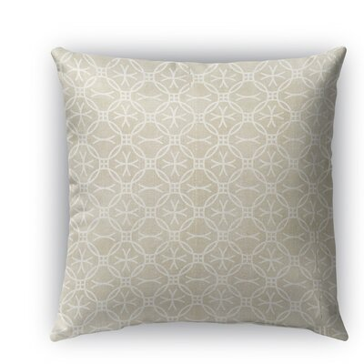 Avellino Burlap Indoor/Outdoor Throw Pillow Size: 16 H x 16 W x 5 D